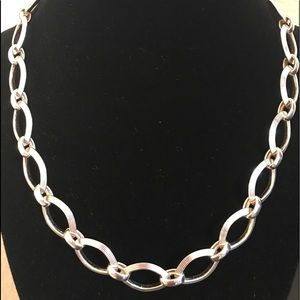 Jewelry - Sterling Silver Italian Made Link Necklace